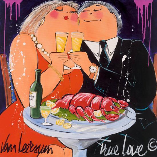 True Love-El Van Leersum-Art Print