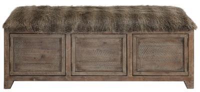 Truett Pioneer Storage Bench