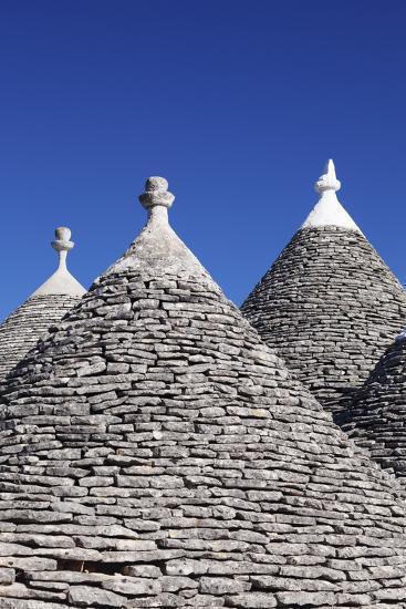Trulli, Traditional Houses, Rione Monti Area, Alberobello, UNESCO World Heritage Site-Markus Lange-Photographic Print