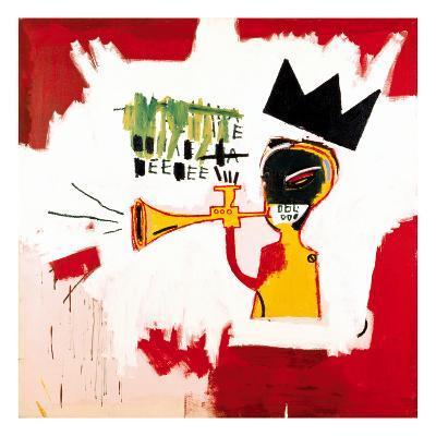 Trumpet, 1984-Jean-Michel Basquiat-Giclee Print