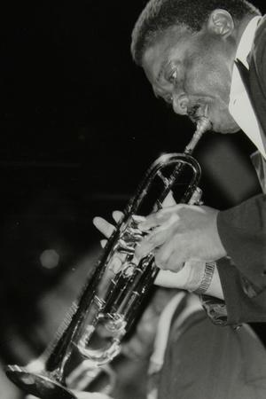 Trumpeter Cat Anderson Performing at the Newport Jazz Festival, Ayresome Park, Middlesbrough, 1978-Denis Williams-Photographic Print