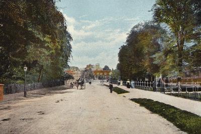 Trumpington Road and Trumpington Street--Photographic Print