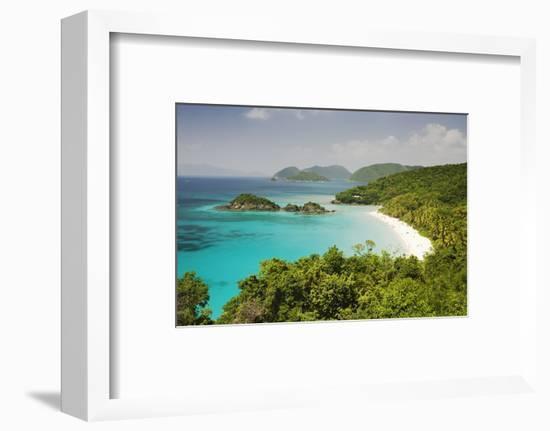 Trunk Bay at St. John Island in U. S. Virgin Islands-Macduff Everton-Framed Photographic Print