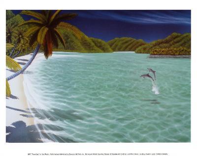 Trunk Bay-Dan Mackin-Art Print