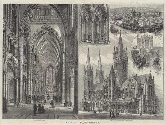 Truro Cathedral-Frank Watkins-Giclee Print