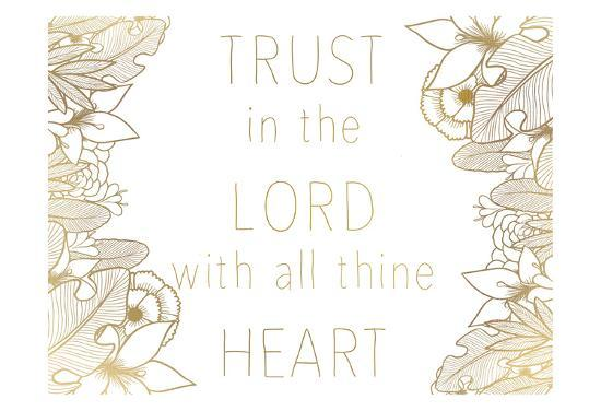 Trust In The Lord-Kimberly Allen-Art Print