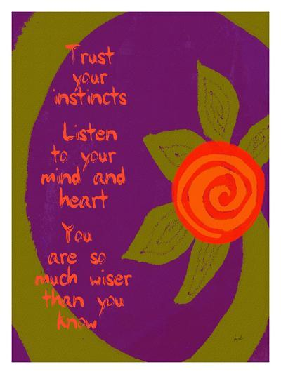 Trust Your Instincts-Lisa Weedn-Giclee Print