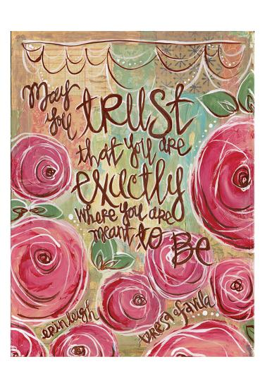 Trust-Erin Butson-Art Print