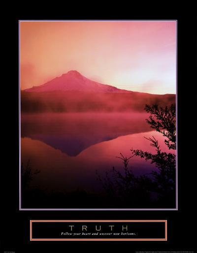 Truth: Misty Mountain--Art Print