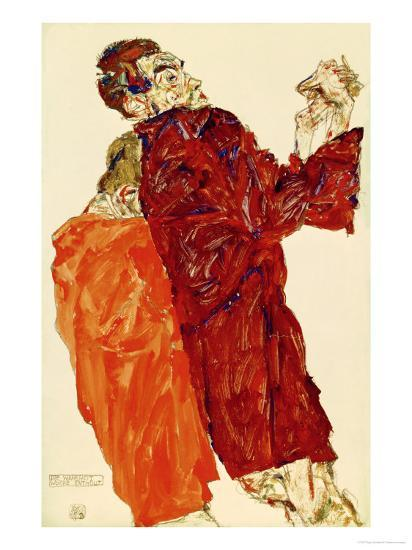 Truth Unveiled, 1913-Egon Schiele-Giclee Print