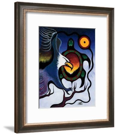 Truth-Frank Polson-Framed Giclee Print