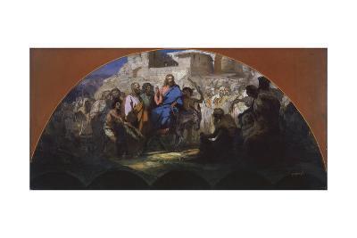 Try of Christ into Jerusalem, 1876-Henryk Siemiradzki-Giclee Print