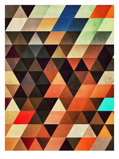 Trynxfyrmx-Spires-Art Print