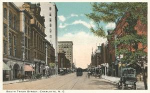 Tryon Street, Charlotte, North Carolina