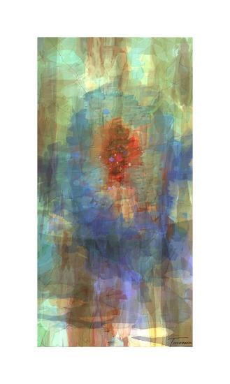 Tryptic Visions Center-Michael Tienhaara-Giclee Print