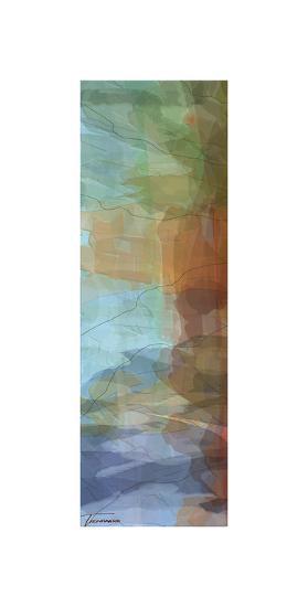 Tryptic Visions Left-Michael Tienhaara-Giclee Print