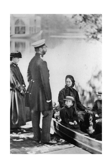 Tsar Alexander II of Russia and Members of His Family, C1863-C1865--Giclee Print