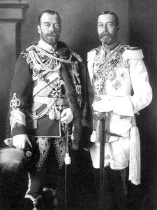 Tsar Nicholas II of Russia and George V of the United Kingdom, 1913