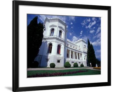 Tsar Nicholas II Summer Palace, Site of 1945 Yalta Convention, Livadiya, Yalta, Ukraine-Cindy Miller Hopkins-Framed Photographic Print