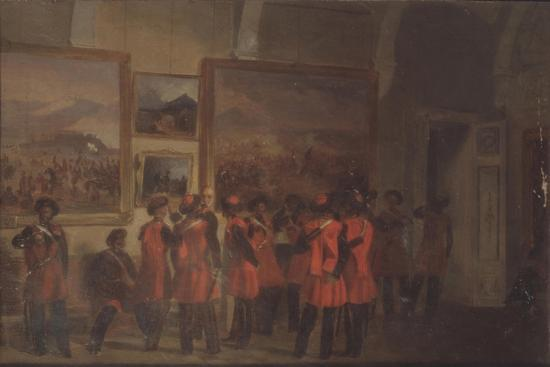Tsar's Bodyguard of Cossacks in the Winter Palace--Giclee Print