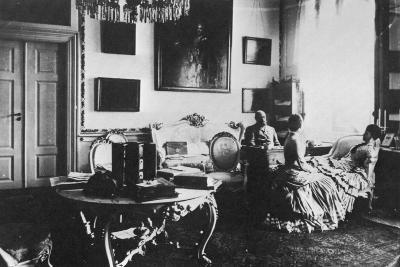 Tsarevich Alexander and Grand Duchess Maria Feodorovna of Russia, C1880--Giclee Print