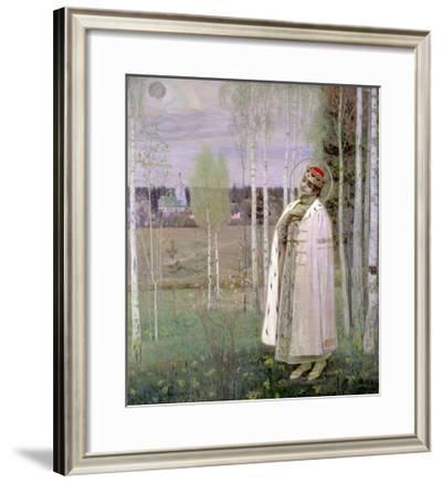Tsarevich Dimitry, Son of the Assassinated Tsar Nicholas-Mikhail Vasilievich Nesterov-Framed Giclee Print