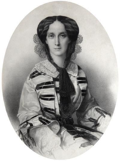 Tsarina Maria Alexandrovna of Russia, 1860-Andrei Deniere-Giclee Print
