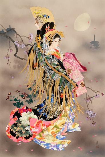 Tsuki No Uta-Haruyo Morita-Art Print