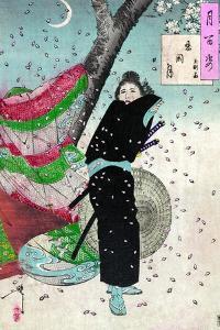 Moon over Shinobugaoka by Tsukioka Kinzaburo Yoshitoshi