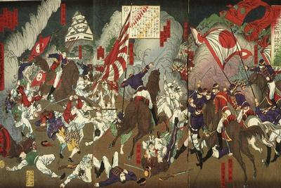 A Chronicle of the Subjugation of Kagoshima: Battle around Kumamoto Castle, 1877