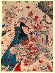 Sumiyoshi No Meigetsu by Tsukioka Yoshitoshi