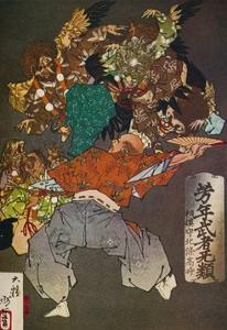 'The Tengus', c1880, (1926) by Tsukioka Yoshitoshi