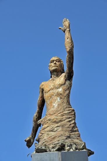 Tsunami Statue, Sri Lanka--Photographic Print