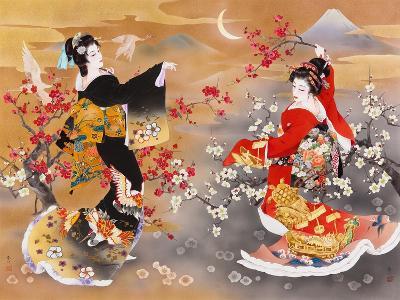 Tsuru Kame-Haruyo Morita-Art Print