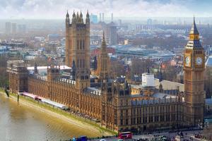 Big Ben and Houses of Parliament, London, Uk by TTstudio