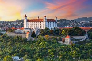 Bratislava Castle, Slovakia by TTstudio