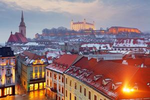 Bratislava Panorama - Slovakia - Eastern Europe City by TTstudio
