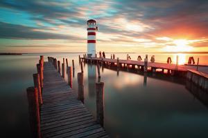Lighthouse - Lake in Austria by TTstudio