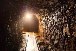 Mine Tunnel with Path - Historical Gold, Silver, Copper Mine by TTstudio