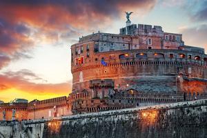 Rome - Castel Saint Angelo, Italy by TTstudio