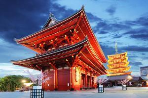Tokyo - Sensoji-Ji, Temple in Asakusa, Japan by TTstudio