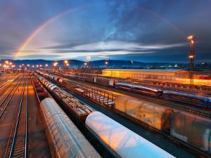 Train Freight Transportation Platform by TTstudio