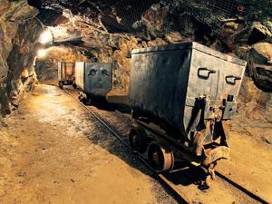 Underground Mine Tunnel, Mining Industry by TTstudio