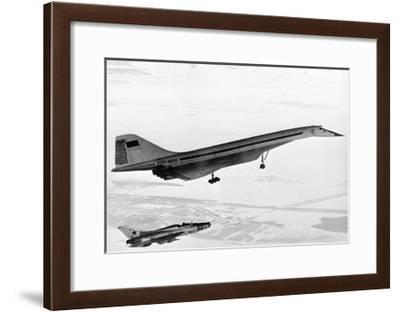 Tu-144, the First Supersonic Jet , 1969-Ria Novosti-Framed Giclee Print