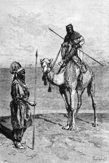 Tuaregs on a Journey, North Africa, 1895-Ivan Pranishnikoff-Giclee Print