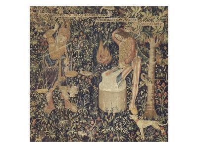 Tubalcaïn, l'invention de la pesée et de l'art de forger--Giclee Print