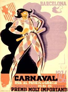 Carnival, 1936 by Tubau