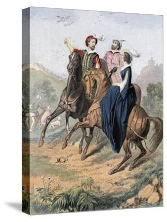 Tudor Falconry, Mid 19th Century