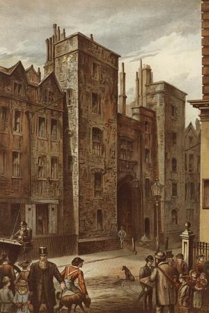 Tudor Gateway, Lincoln's Inn, Chancery Lane-Waldo Sargeant-Giclee Print