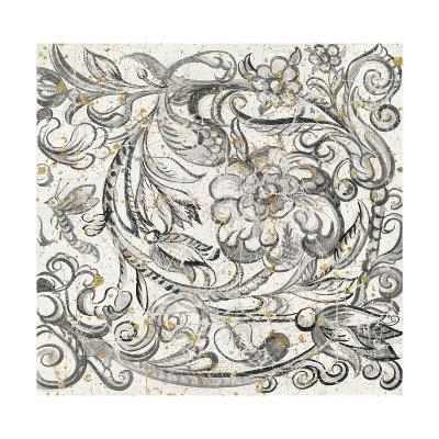 Tudor Rose Gold-Meloushka Designs-Art Print